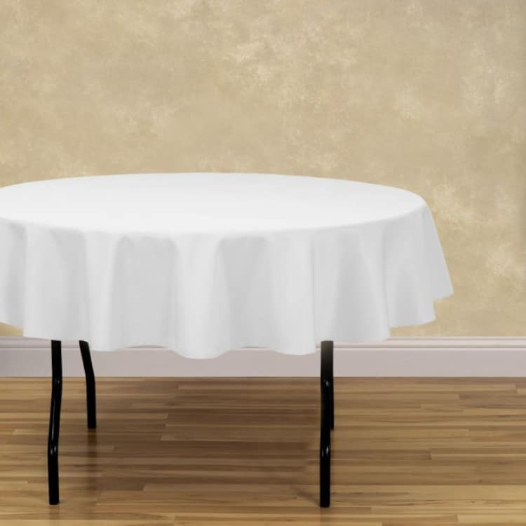70 Round Basic Polyester