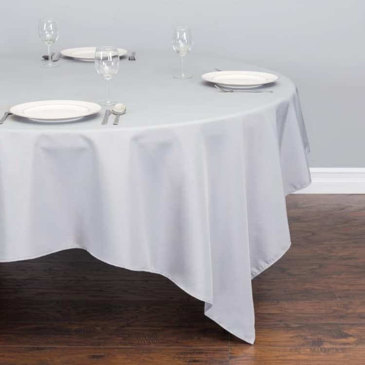 85 Square Polyester Tablecloth