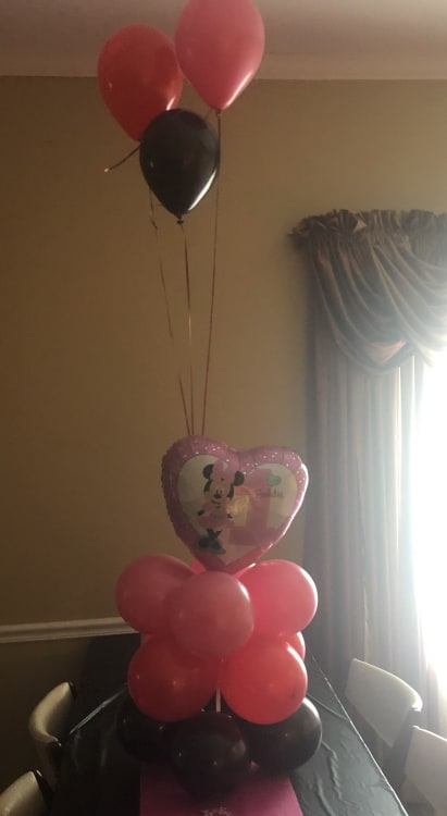 Balloon Center piece w/weight