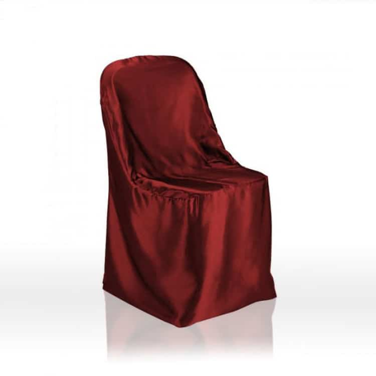 Folding Chair Covers Satin