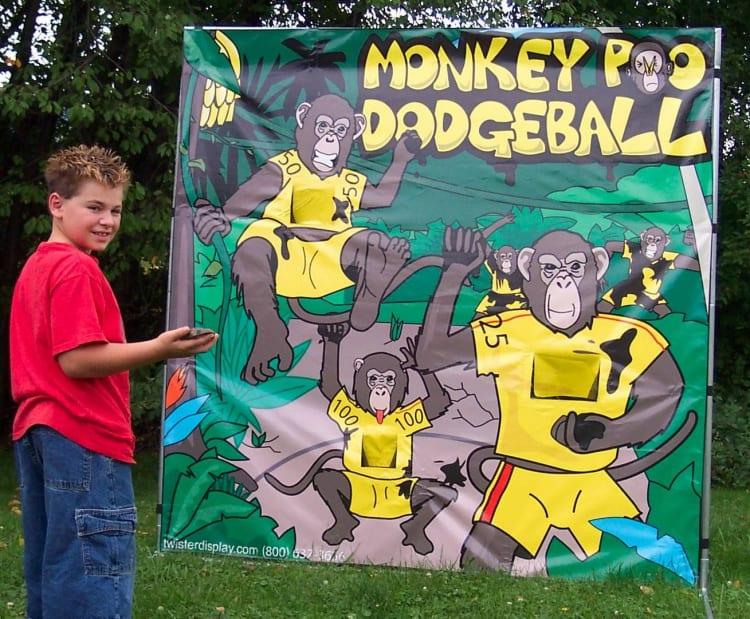 Monkey Poo Dodgeball
