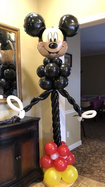 Custom Balloon Columns