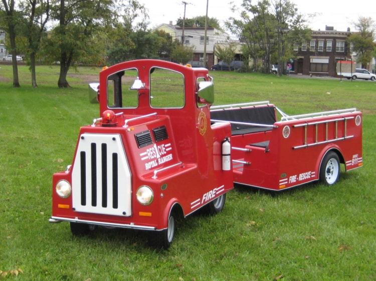 Fire Truck Train