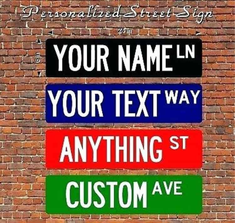 Make Your Own Road sign