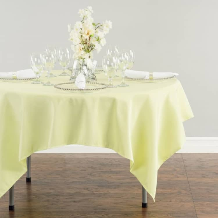 70 Square Polyester Tablecloth