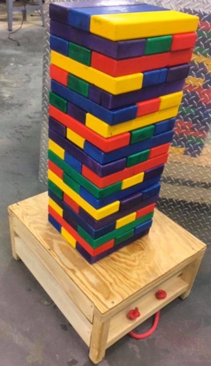 Giant Tumble Blocks
