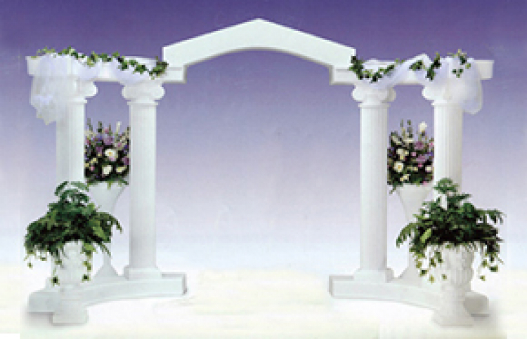 Wedding Colonnades