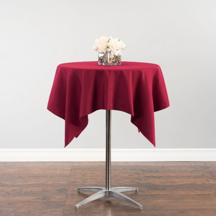 54 Square Polyester Tablecloth
